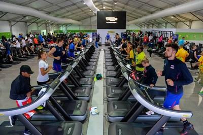 Technogym Appointed Official Supplier to 2017 Athletics World Championships (PRNewsfoto/Technogym)