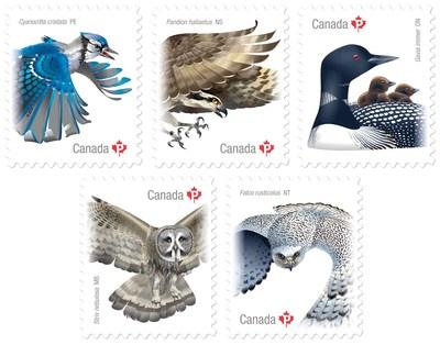 Les oiseaux du Canada 2017 (Groupe CNW/Postes Canada)