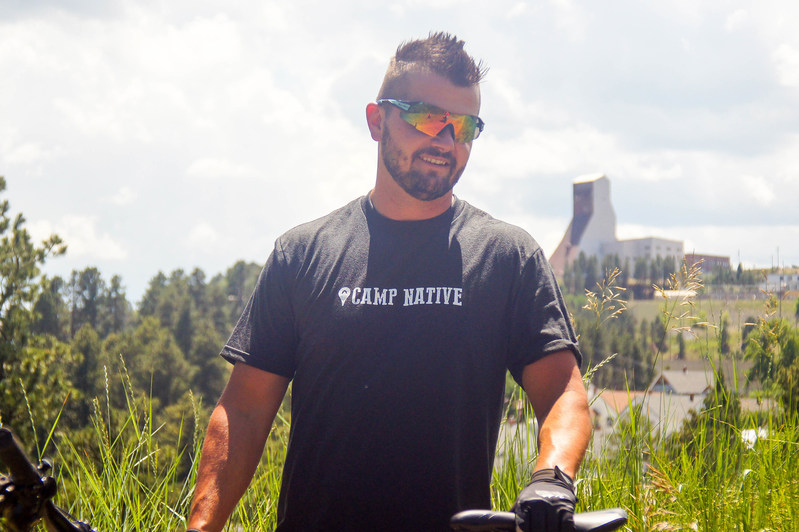 Camp Native Founder David Woodbury departs today for a 4,354-mile bike ride through nine Western states and 82 towns.