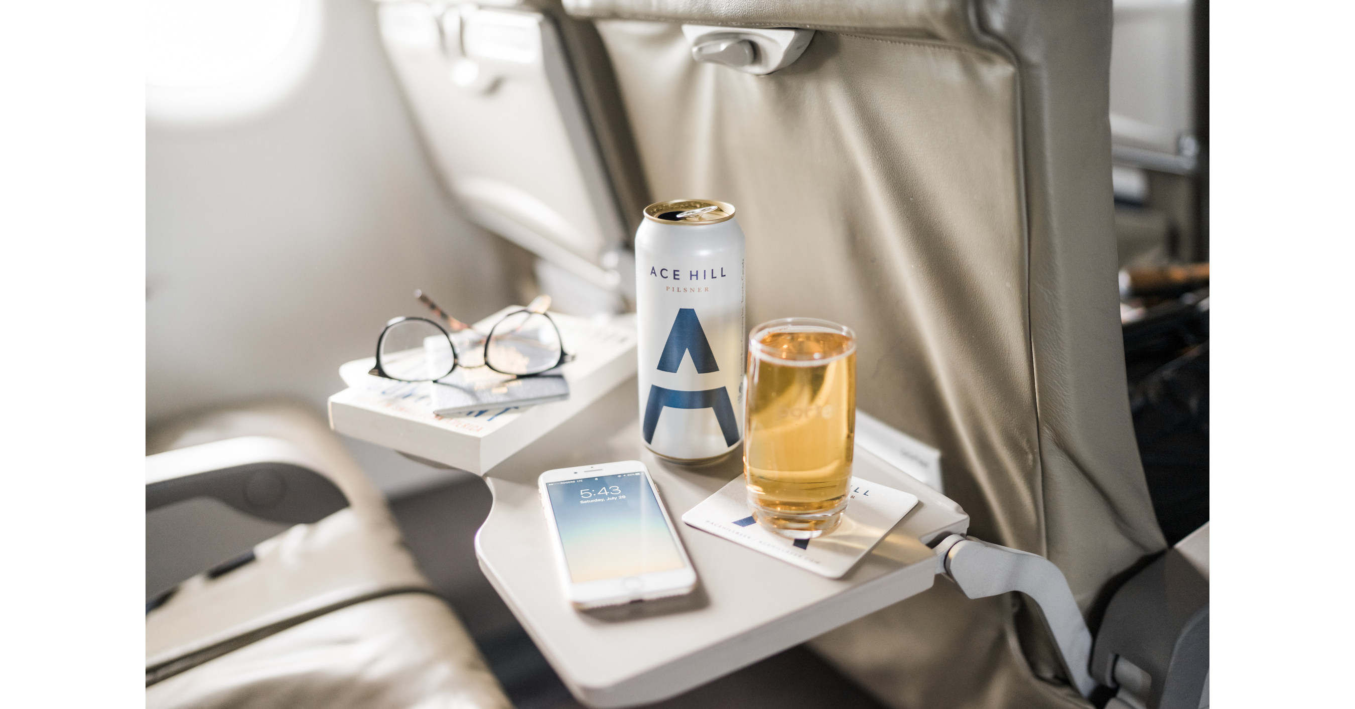 Porter Airlines welcomes aboard Ace Hill Beer