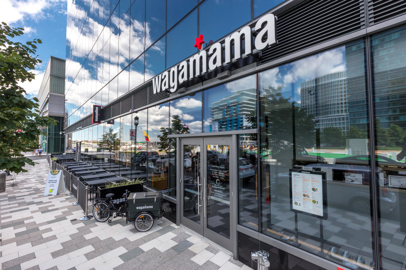 wagamama's newest location in the thriving Seaport neighborhood opens Wednesday/August 2 and is the only wagamama in Boston to offer handcrafted cocktails.