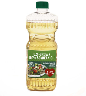 Food manufacturers can promote eligible soybean oil products as U.S. grown and now, heart healthy.
