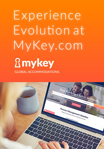 Experience the next stage in temporary accommodations evolution at MyKey.com. (CNW Group/MasterKey Alliance)
