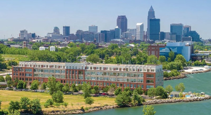Brown Gibbons Lang & Company Real Estate Advisors advises on the acquisition of Quay 55, Cleveland's iconic waterfront luxury apartments