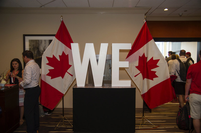 WE and WestJet pledge for Canada's future (CNW Group/WestJet)