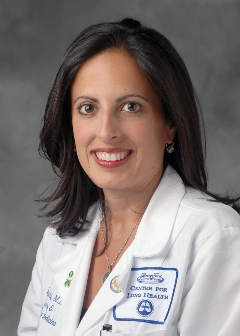 Rana Awdish, M.D., director of Henry Ford Hospital's Pulmonary Hypertension Program.