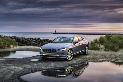 The 2017 Volvo S90 (CNW Group/Volvo Car Canada Ltd.)