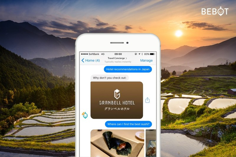 Bespoke In. and Belluna Co., Ltd. introduce Japan's 1st AI Concierge Bebot Across Emerging Hotel Chain Granbell Hotel