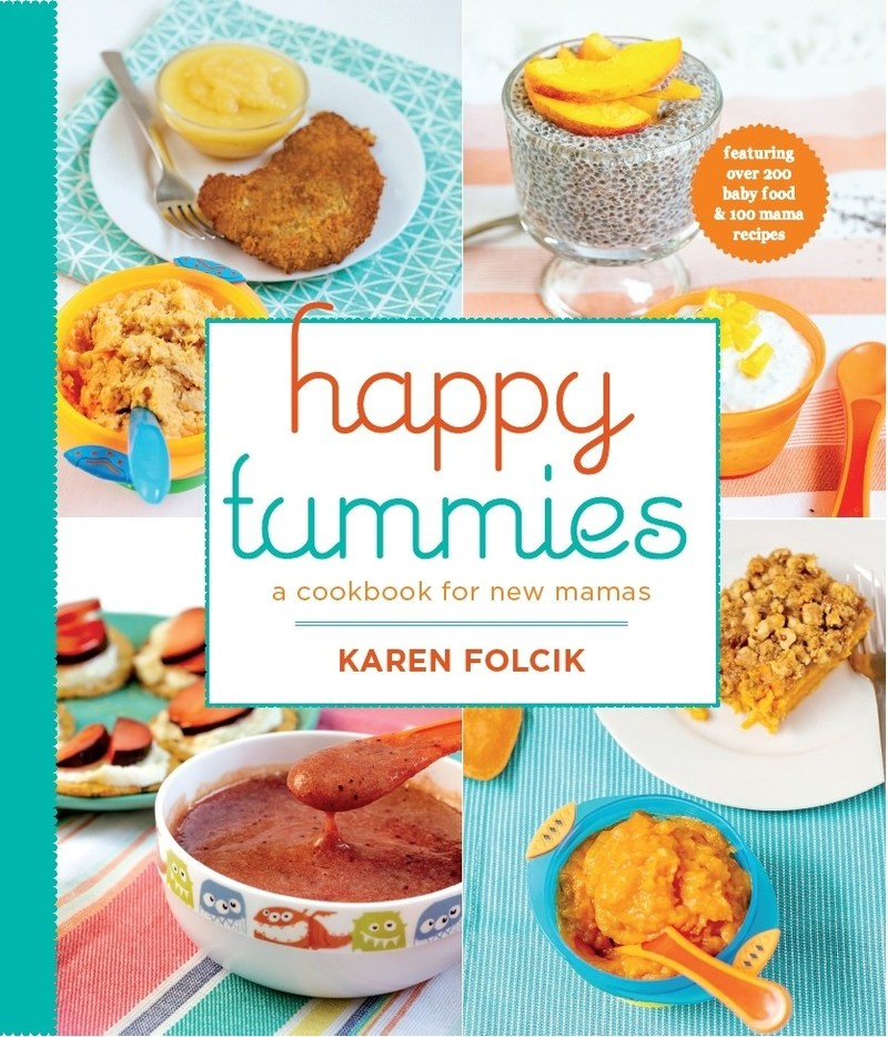 Practical new baby food cookbook guide helps new moms think happy tummies is a brilliant new cookbook and guide to help unravel the misinformation about feeding forumfinder Gallery