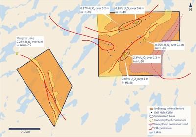 Figure 2 – Property Map (CNW Group/IsoEnergy Ltd.)