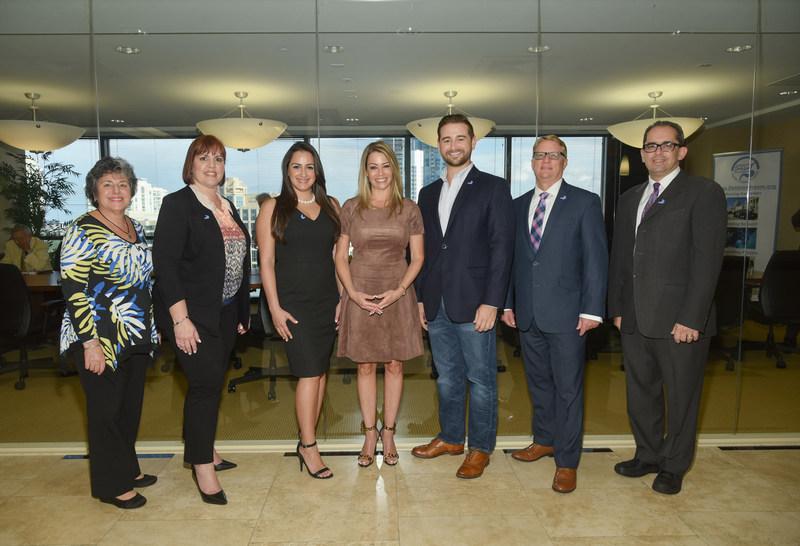 New DDF Board Members Elizabeth Gassew, Noemi Sanchez, Gigi Giusti, Linda Gendler, Clay Rusch, Charles Synder, and Michael Geller