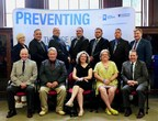 The 2017 graduates of the Wounded Warriors Canada Veteran Trainers to Eradicate the Use of Child Soldiers (VTECS) program at Dalhousie University. (CNW Group/Wounded Warriors Canada)