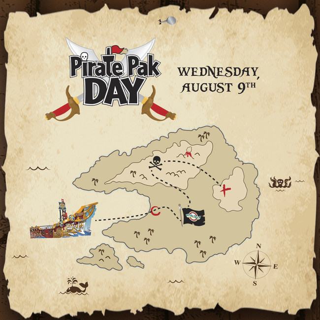 Pirate Pak Day is August 9 (CNW Group/White Spot Restaurant)