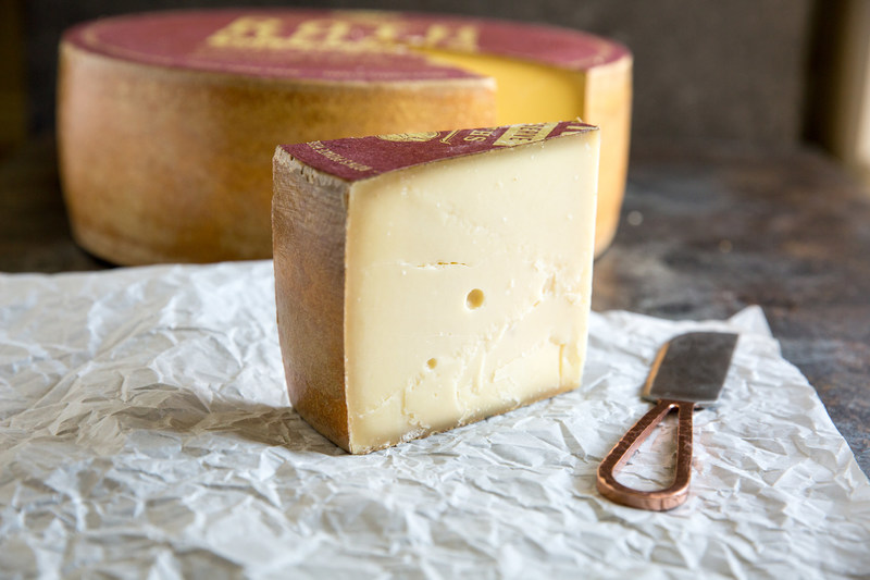First place in the American Originals Category at the 2017 American Cheese Society Competition went to Roth's Private Reserve, a raw milk, washed rind alpine-style cheese handcrafted using copper vats and aged for more than 6 months on spruce boards in the Roth cellars. The result is a complex flavor with undertones unique to the seasonal milk that is used.