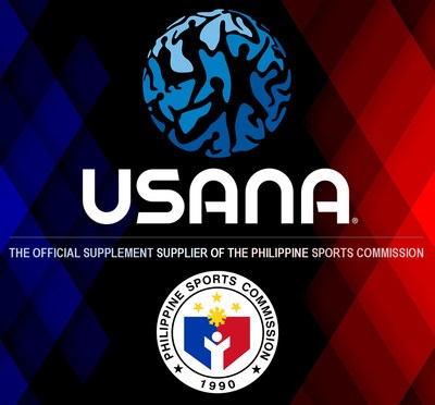 USANA is the Official Supplement Supplier of the Philippines Sports Commission