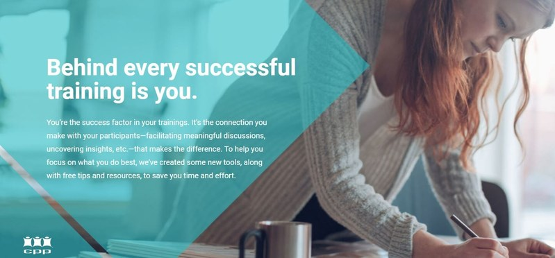 New tools and products developed by CPP—The Myers-Briggs Company to help HR trainers and organizational development consultants get the most from their training sessions.