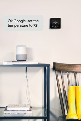 "With Google Home and a few simple words, like ""OK, Google …"" consumers can adjust their home's temperature and comfort with a Honeywell LyricTM thermostat (Lyric Round, Lyric T5, Lyric T6 Pro) or Honeywell Total Connect Comfort (Wi-Fi and RedLINK™) thermostat."