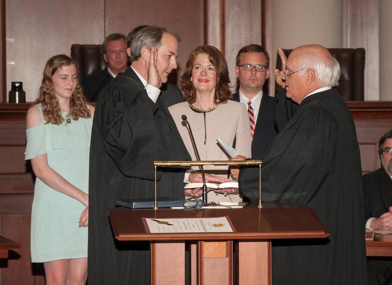 Judge William Sellers Being Sworn in to Alabama Supreme Court
