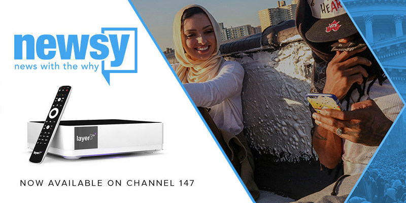 Newsy expands with Layer3 TV partnership