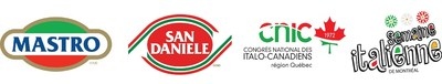 Logos: Montreal's Italian Week (CNW Group/National Congress of Italian Canadians)