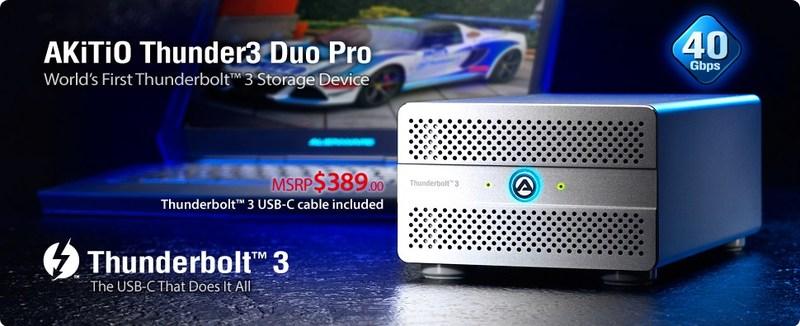 Akitio® Node Thunderbolt™ 3 eGPU Box NVIDIA Quadro Qualified