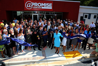 Ribbon Cutting at Atlanta Police Foundation At-Promise Youth Center
