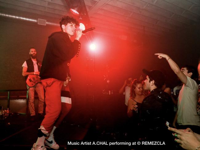 Music Artist Performing at Rem.001