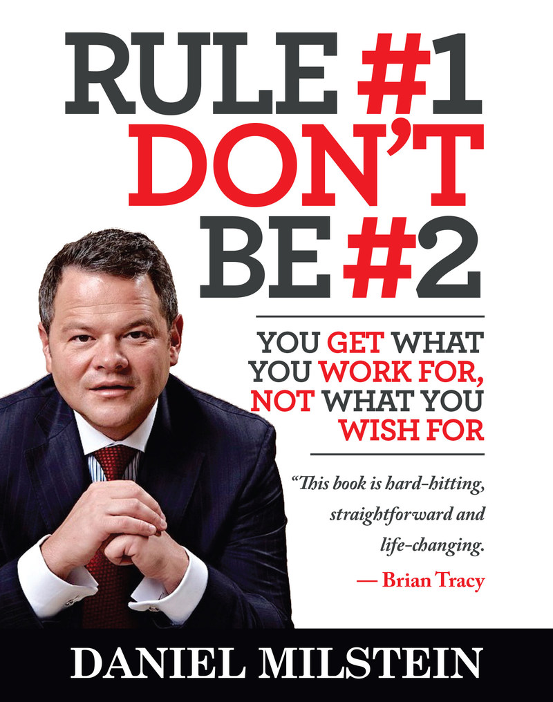 "800-CEO-READ Names ""Rule #1 Don't Be #2"" the #1 Bestseller in Business Books in July"