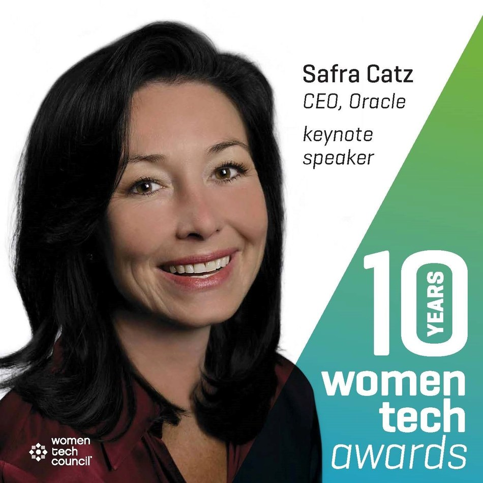 Oracle CEO Safra Catz will be the keynote speaker at the 10th annual Women Tech Awards in Salt Lake City, Utah, on Friday, October 27, 2017.