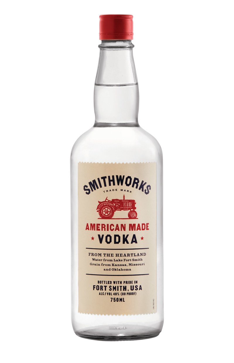 Smithworks Vodka has a suggested retail price of $19.99 for 750 mL and is available in Arkansas, Colorado, Kansas, Missouri, Oklahoma, Tennessee, Pennsylvania and now Iowa, Michigan, Louisiana, Ohio and Nebraska.
