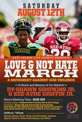 Love and Not Hate March