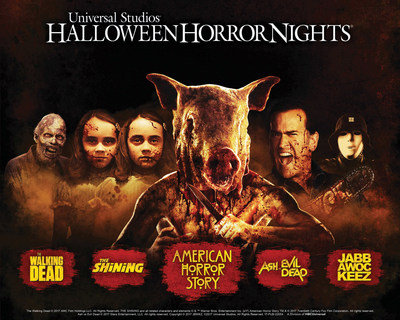Tickets are on Sale for 'Halloween Horror Nights' at Universal Studios Hollywood Including its All-New R.I.P. Tour, Featuring VIP Guided Access, Gourmet Buffet Dinner,