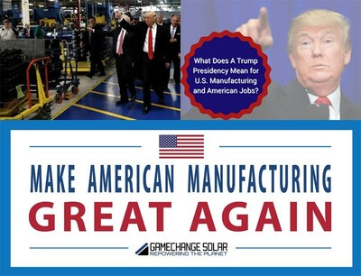 What Does A Trump Presidency Mean for U.S. Manufacturing and American Jobs?