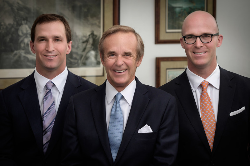 From left to right: Ryan Raveis, Co-President of William Raveis Inc., William Raveis, Chairman & CEO, Chris Raveis, Co-President of William Raveis Inc.
