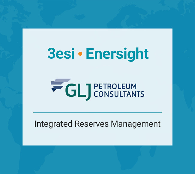 3esi-Enersight and GLJ Petroleum Consultants Partner to