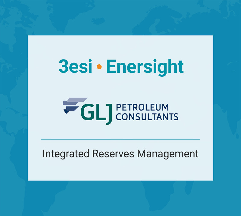 3esi-Enersight has partnered with GLJ Petroleum Consultants to develop a next generation oil and gas reserves evaluation and management solution.