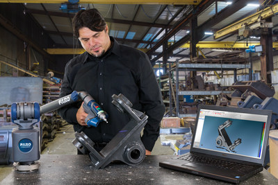 The FARO Quantum S is the industry's first Measuring Arm to be certified against the new and rigorous ISO Standard 10360-12:2016.