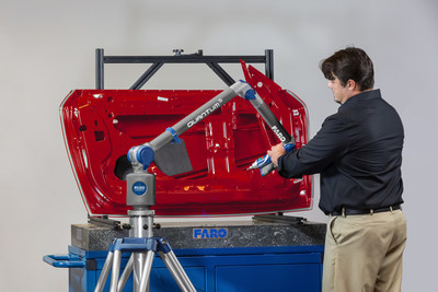 The  FARO  Quantum  S  is  the  most  accurate  FaroArm  ever  produced  –  and  delivers  this  high  level  of  accuracy  to  meet  even  the  most  challenging  of  tolerances.