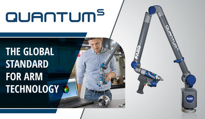 FARO introduces next generation FaroArm to elevate value/performance standard for manufacturing inspection and alignment.