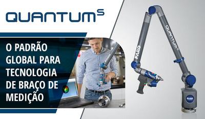 FARO® apresenta a próxima geração do FaroArm® para elevar o padrão de valor / desempenho para inspeção e alinhamento no chão de fábrica.