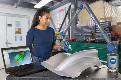 Combinado com a FAROBluTM Laser Line Probe HD, a QuantumS oferece capacidades de medição sem contato incomparáveis integrando o melhor scanner a laser disponível no mercado.