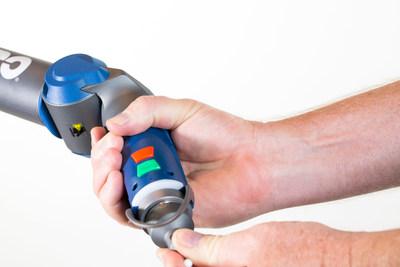 As sondas inteligentes cinemáticas FARO permitem que você troque rapidamente e facilmente sondas sem a necessidade de recalibrar.