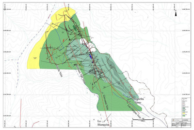 SilverCrest Metals Las Chispas Project La Blanquita Vein (CNW Group/SilverCrest Metals Inc.)