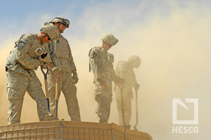 Hesco protecting the men and women of the United States military for fifteen years