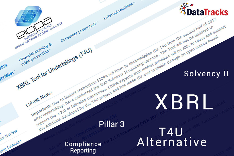 Solvency II Reporting - T4U Alternative (PRNewsfoto/DataTracks Services Limited)