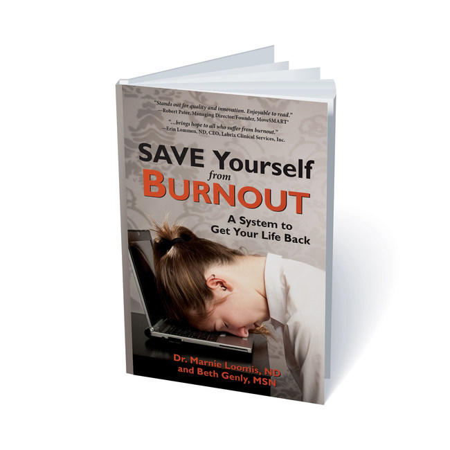 "Cover of ""Save Yourself from Burnout"" published by Bouclier Press"