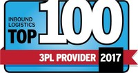KAG Logistics Awarded Top 100 Third-Party Logistics Provider by Inbound Logistics