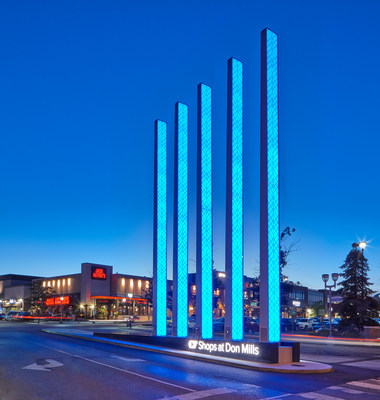 Cadillac Fairview Announces Completion of its $21 Million Redevelopment Investment in CF Shops at Don Mills (CNW Group/Cadillac Fairview Corporation Limited)
