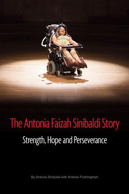The Antonia Faizah Sinibaldi Story book cover.