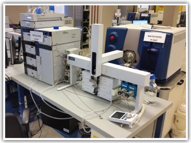 The toxicology lab includes six mass spectrometers. The late-model facility features equipment purchased in the last three to four years.
